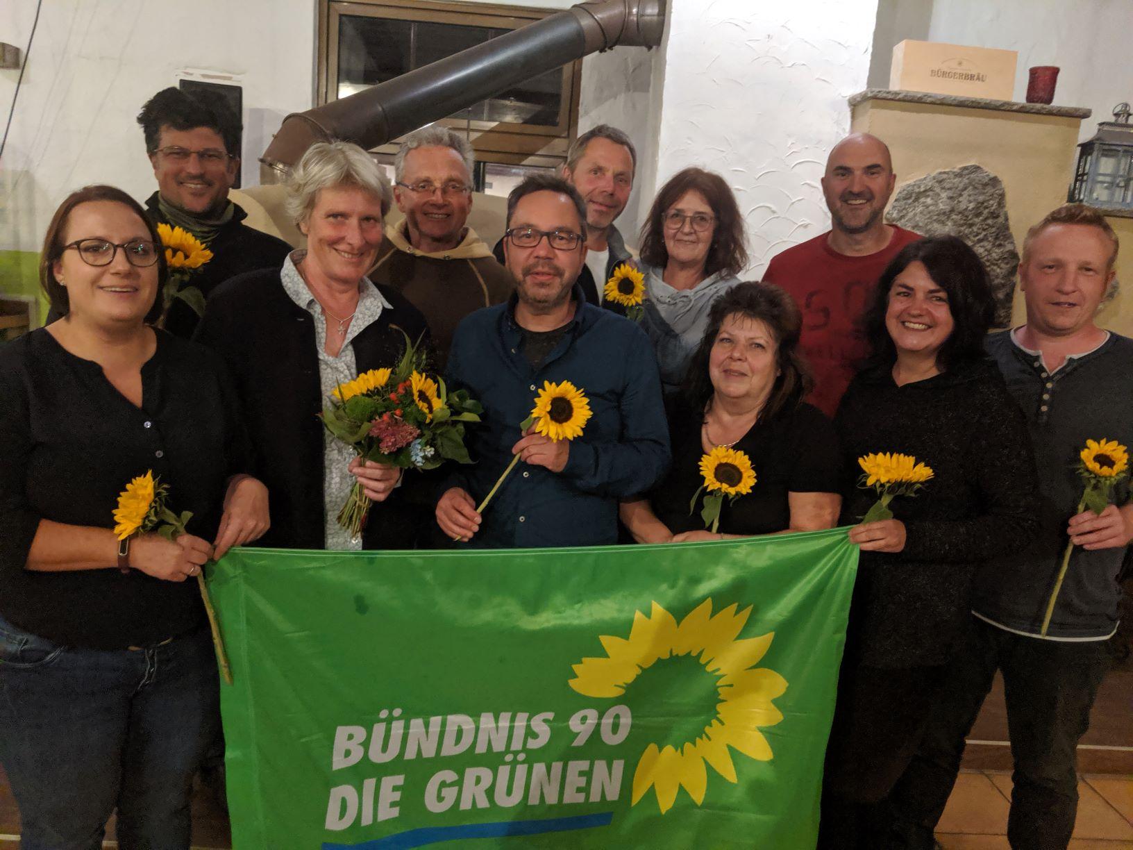 16 Grüne KandidatInnen für den Stadtrat