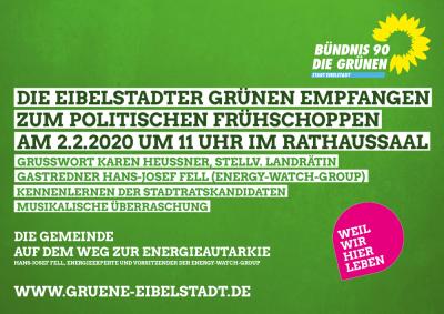 Einladung zum politischen Frühschoppen der Eibelstadter Günen