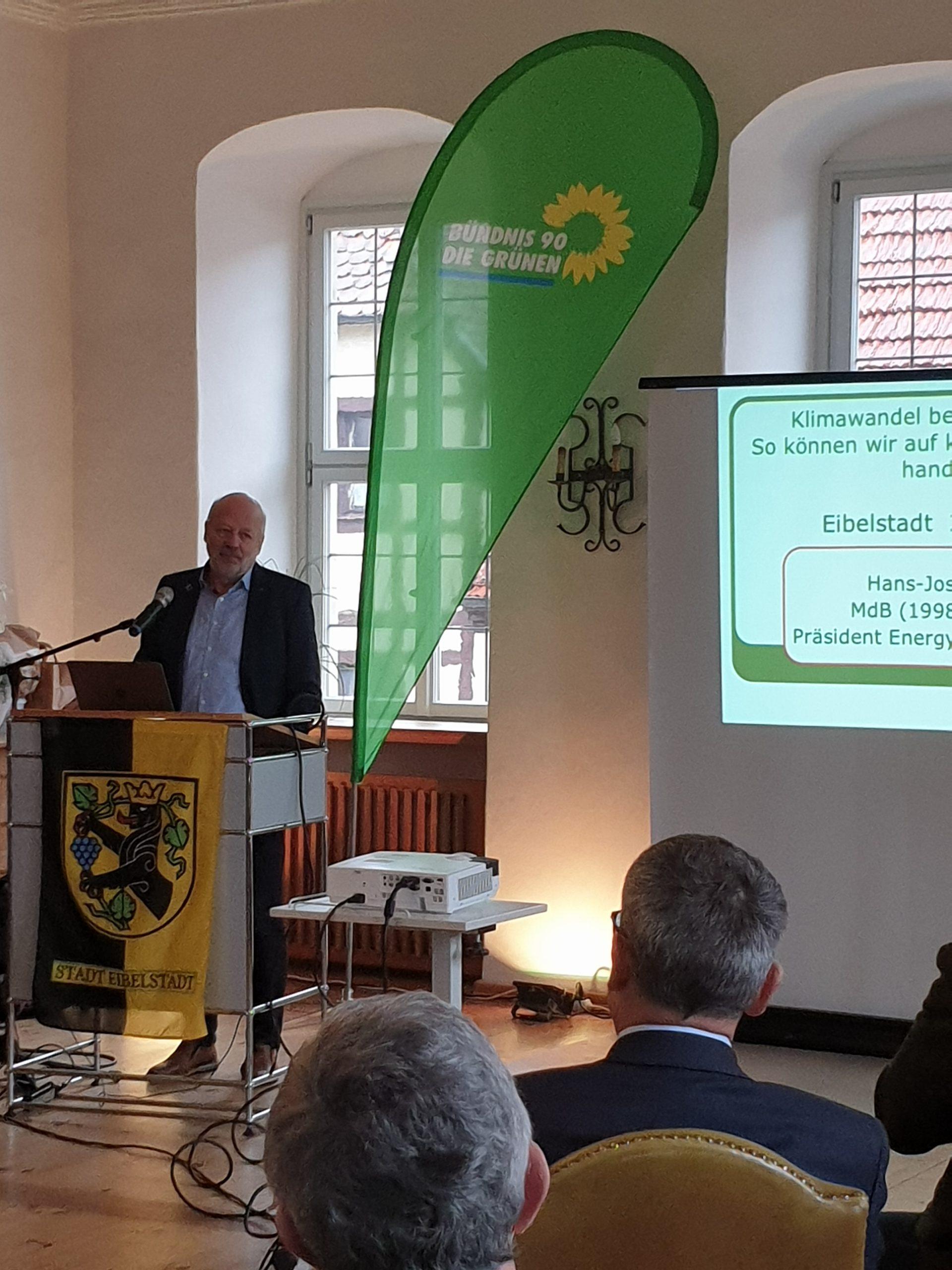 Grüne: Eibelstadt soll klimafreundlich sein