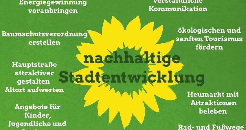 Themenschwerpunkte Grüne Eibelstadt 2020