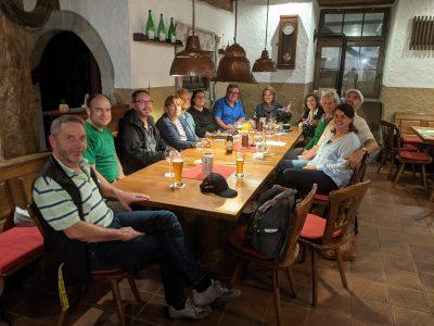 Vorstandswahlen 2021, Mühle Eibelstadt, Gruppenfoto